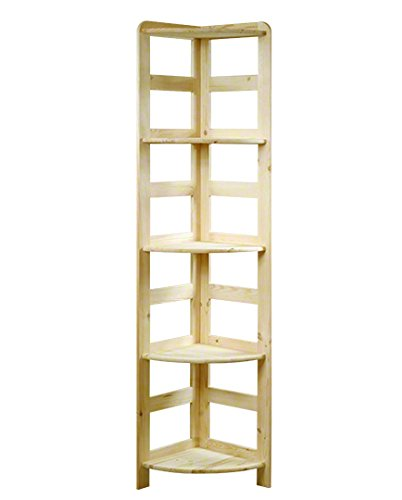 HOLZREGAL Kiefer Massiv Regal Bücherregal Büroregal Modulregal R-* 8 Varianten (R-11 HxBxT 166x33x33 cm)