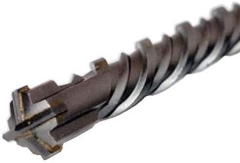 WERKON Profi SDS Plus Betonbohrer 40 x 600 mm Hammerbohrer Steinbohrer Beton Bohrer Quadro X Vierfachschneide Kreuzschneide