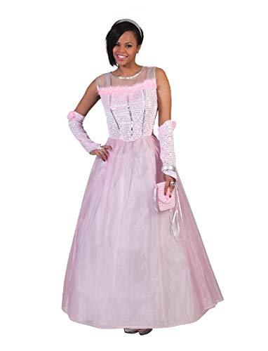 Prinzessin Romy Kostüm für Damen Gr. 44 46 - Tolles Märchenkleid für Erwachsene zu Karneval