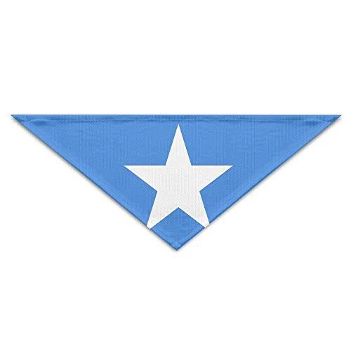 FGJGHKGH Fahne Somalia Bandana Dreieck Halstuch Lätzchen Schals Zubehör für Haustier Katzen und Baby Welpen Der Speichel Hund Handtuch