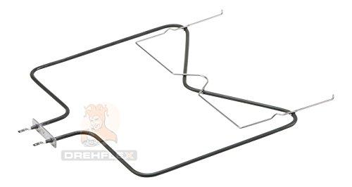 DREHFLEX–Bajo Calor/calefacción/Resistencia–Apta para varios Bauknecht IGNIS Whirlpool IKEA Manada/del Horno–Apto para piezas de nº 481010375734//1150W