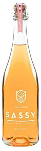シードル SASSY 【りんごのお酒】ノルマンディー産 高級シードル Cidre Rose SASSY (アルコール度数3%) 【りんご/オレンジ/スモーキー】のアロマ