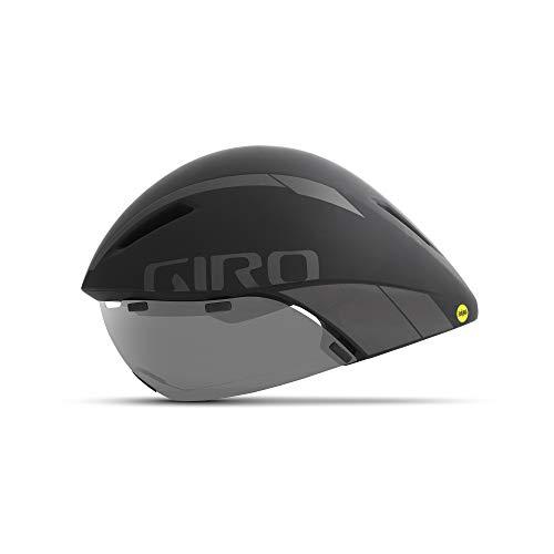 Giro Aerohead MIPS Adult Road Cycling Helmet - Medium (55-59 cm), Matte Black/Titanium (2021)