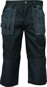 Triuso 3/4 Hose schwarz- Gr.50 Arbeitshose Arbeitsshorts Arbeitskleidung Berufsbekleidung Sommerhose