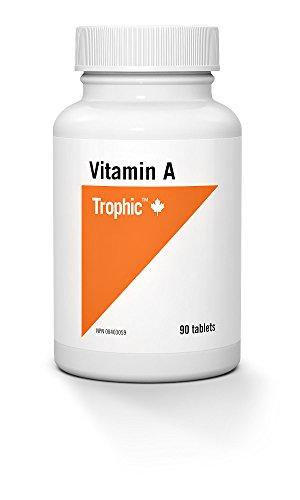Trophic Vitamin A 10,000 IU 90 Tablets