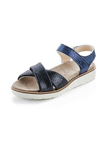 Avena Damen Hallux-Sandale Softness Blau Gr. 41