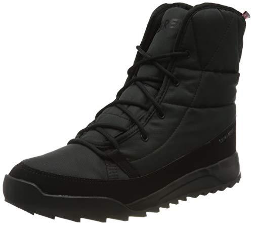 adidas Terrex Choleah Padded CP, Chaussures de Randonnée Hautes Femme, Multicolore Noir Gris Negbas Negbas Gricin, 40 2/3 EU