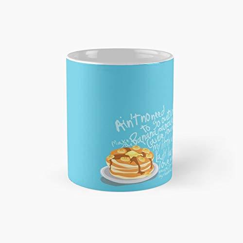 Banana Pancakes Classic Mug 11 Oz