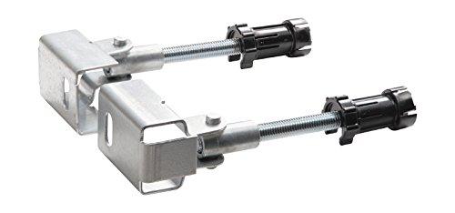 Geberit Bausatz Ecklösung Duofix, 11835001, tiefenverstellbar, 2 Gewindestangen M10, 21102 4