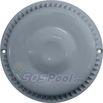 Afras Anti Vortex Light Gray Drain Cover 7 3/8 inch Made 11064LTGY