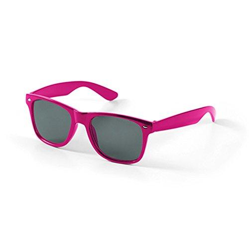 eBuyGB Unisex's stijlvolle Aviator zonnebril UV400 bescherming Holiday Beach Fashion Shades, Fuchsia, een maat