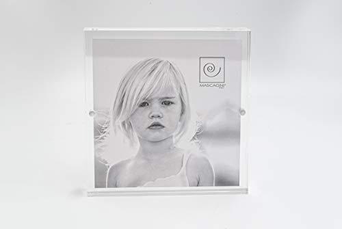 Mascagni Cornice 10x10 in Plexiglass chiusura magnetica, acrilico