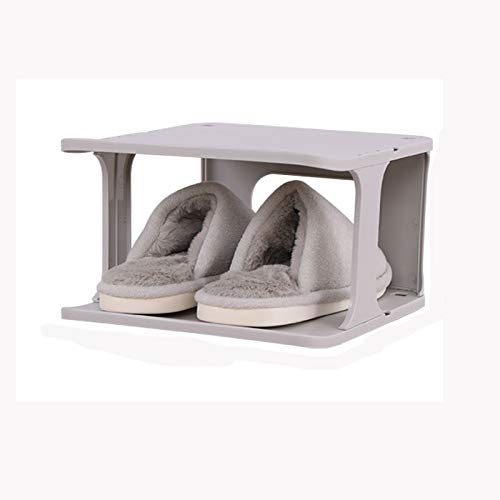 Diaod Zapato de Almacenamiento apilable Caja Organizador Uso Espacio del hogar Trapo de pie Zapatos estantes de Las Zapatillas de Deporte organizadores