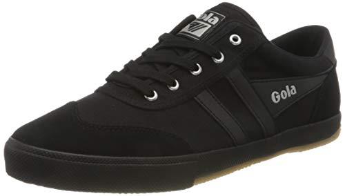 Gola Herren Badminton Sneaker, Black/Black/Black, 45 EU