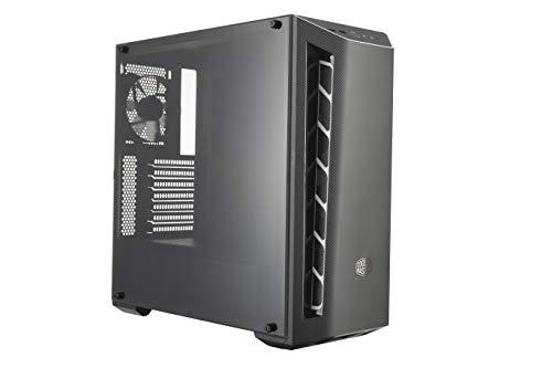 Cooler Master MasterBox MB510L -Case PC ATX Finitura in Fibra di Carbonio, Prese d'Aria, Pannello Laterale Trasparente…