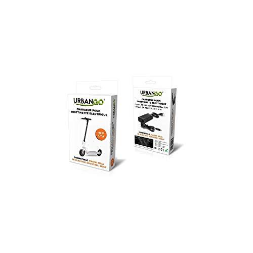 Urbango Cargador–Patinete eléctrico Compatible xiaomi mi M365Unisex, Negro, única