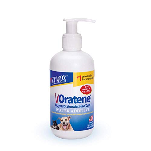 Pet King Brands Zymox Oratene Enzymatic Brushless Oral Care Water Additive, 8oz