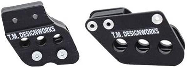 T.M. Designworks Factory Edition 2 Rear Chain Guide Black for Kawasaki KX85 2001-2018