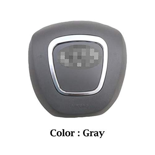 Fangaichen Adecuado para el Coche para Audi A4 A5 Copa DE Cable TUNO Cubierta Cubierta AUTOMÁTICO Auto PLÁSTICO ABS DIRECCIÓN DE LA Cubierta DE LA Cubierta (Color : Gray Color)