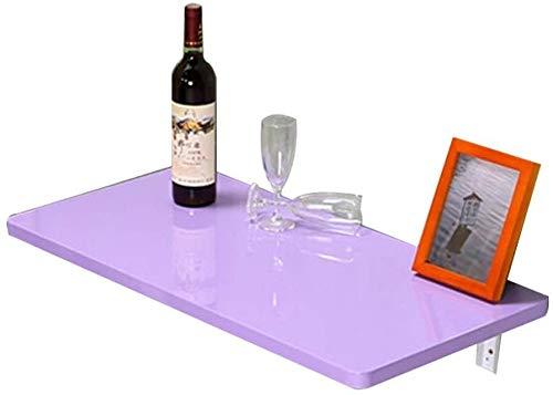 LAMTON Oficina de escritorio del ordenador portátil pequeña mesa plegable montado en la pared hoja de la gota del hogar for ahorrar espacio colgar de la pared plegable escritorio de la tabla de madera