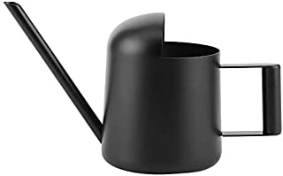 YISENMIAO 300ML/1.5L Garden Watering Can Black Stainless Steel Watering Can Indoor Outdoor Plants Long Spout Watering Pot ...