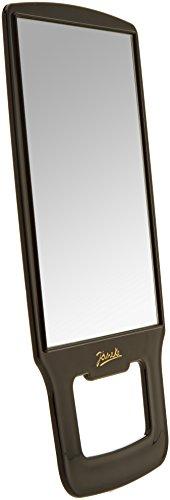 Jäneke kappersspiegel, 23,5 x 18 cm, 1 stuks, zwart