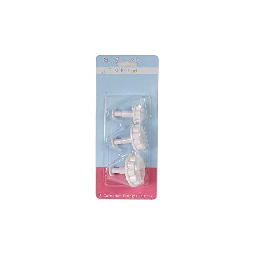 Cake Star Plunger Cutter - Carnation 3 piece