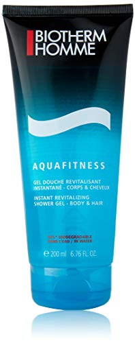Biotherm homme/men, Aquafitness Instant revitalizing shower gel, 1er Pack (1 x 200 g)