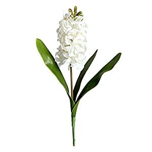 Artificial Plants for Decor, 3D Hyacinth Narcissus Plastic Artificial Flower Potted DIY Crafts Floral Ornaments