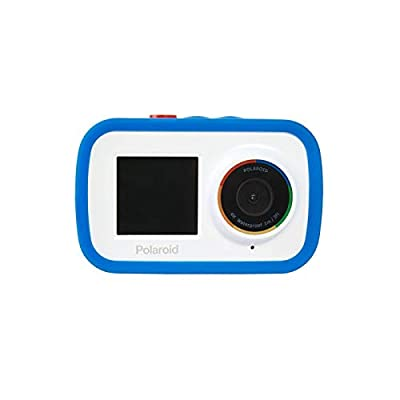 Polaroid Dual Screen Wifi Action Camera 4K 18mp, Waterproof Sports Polaroid Camera with Built in rechargeable Battery and Mounting Accessories for Vlogging, Sports, Traveling, Home Videos by Sakar International, Inc.