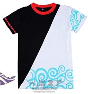Gintama Sakata Gintoki wind wind Gin-san Cosplay T-shirt size L (japan import)