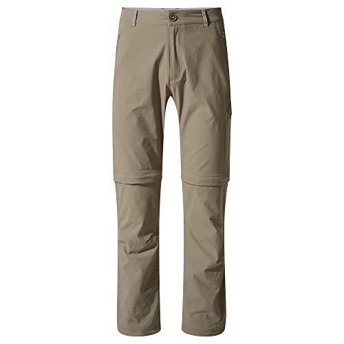 Craghoppers NL TRS Pro Conv Pantalon, Ciottolo, 36\