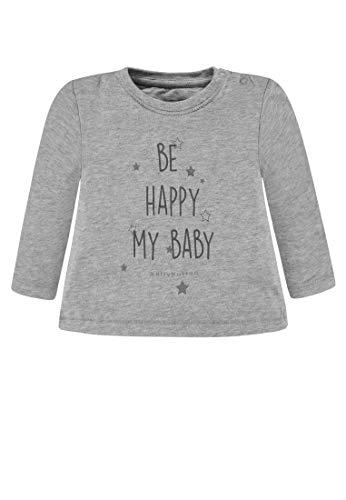 Bellybutton Kids Bellybutton Kids Baby-Unisex 1/1 Arm T-Shirt, Grau (Silver Melange 8885), 80