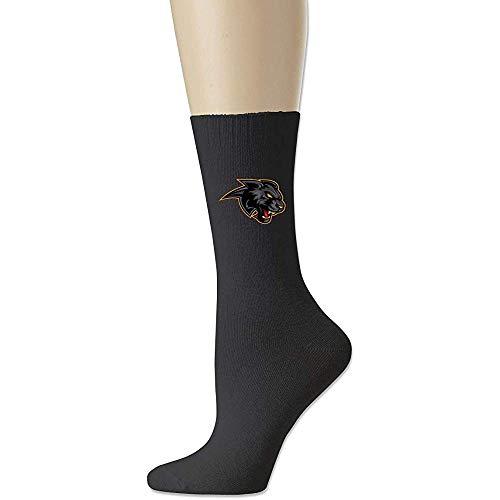 Compressie Sokken, Zwarte Panter Logo Decoratieve Mode Jurk Sokken Voor Outdoor Hardlopen Klimmen 18cm