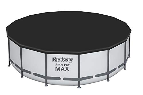 Bestway Steel Pro MAX Piscina con Marco de Acero, Gris