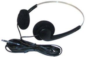 Einweg Stereo Kopfhörer für Krankenhaus, Reisebusse, 3,5 mm Stereo-Klinkenstecker