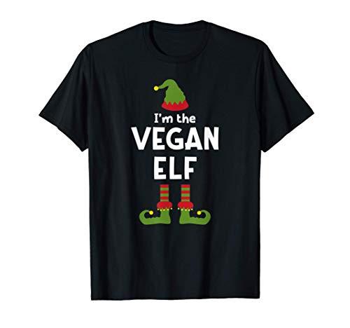 Navidad de los elfos vegetarianos Camiseta