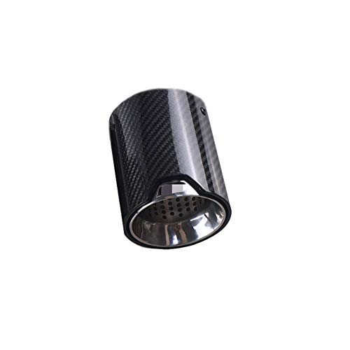 1 Stück geeignet , für BMW Cars M5 / F90 Abgasmodifizierte CarbonfaserEndschalldämpferrohrspitzen