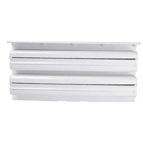 3 en 1 Kitchen Roll dispensadores montado en la pared titular dispensador con el cortador para Plástico Transparente hoja de lata de toallas de papel