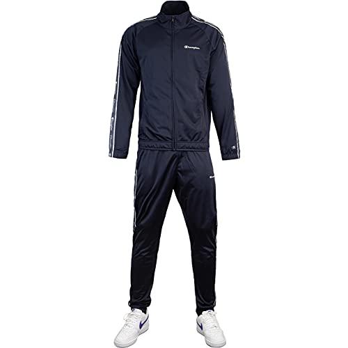 Champion Small Logo Track Suit Trainingsanzug (M, navy)