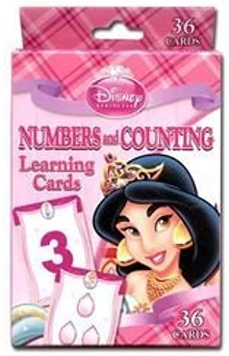 Disney Princess Numbers and Counting Learning Game Cards by Disney