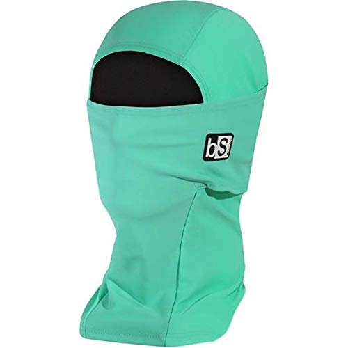 BLACKSTRAP Expedition Hood Balaclava Face Mask, Dual Layer Cold Weather Headwear for Men and Women for Extra Warmth, Mint