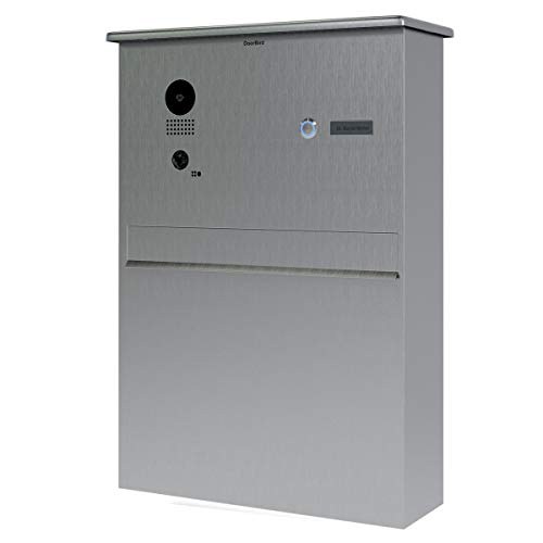 Doorbird D204Video Zugangssystem, Gegensprechanlage (Edelstahl, Knöpfe, horizontal, außen, IEEE 802.11b, IEEE 802.11b,IEEE 802.11g,IEEE 802.11n)