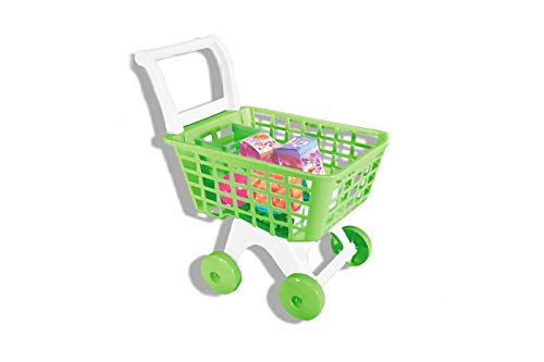 CLICLED Carrello Spesa Giocattolo Bambini Gioco Supermarket con Set Accessori