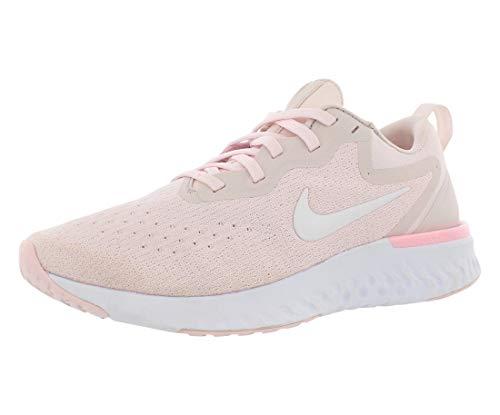 Nike Damen Laufschuh React Glide Shield Leichtathletikschuhe, Mehrfarbig (Arctic Pink/White/Barely Rose 600), 42.5 EU