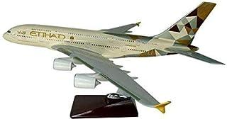 aircraft model plane Etihad airlines decoration model