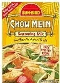 Sun-Bird Chow Mein Seasoning Mix (1 oz Packets) 4 Pack by Sun Bird
