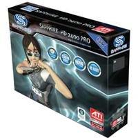 Sapphire ATI Radeon HD 2400 Grafikkarte (PCI-e, 256MB GDDR3 Speicher, Dual-DVI, TV-Out, 1 GPU)