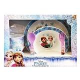 Disney Frozen–Juego Menaje 5Unidades, Color Celeste, 13471020