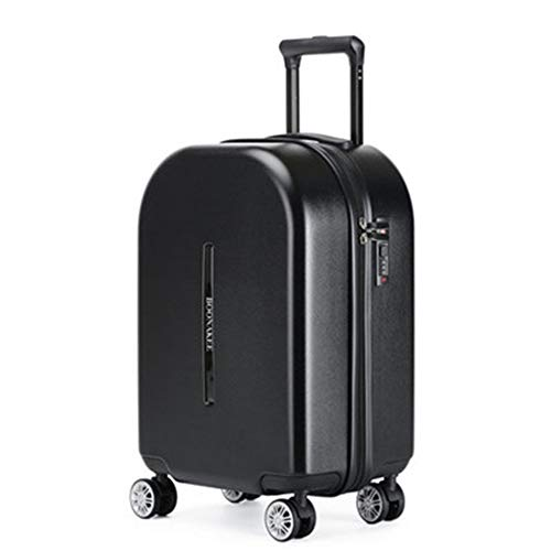 NgMik Telescopic suitcase Trolley Case Boarding Case 20 Inch Student Men & Women Lightweight Suitcase Universal Wheel Fresh Suitcase Lightweight suitcase (Color : C5, Size : 20inch)